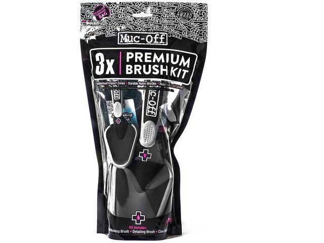 Muc-Off Brush 3-er Pack